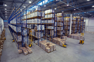 Commercial Pest Control Warehouse Interior Las Vegas